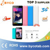 dual sim cards cell phone 3G quad core IPS screen China android 4.4 smart phone