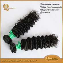 2015 hot selling cheap price deep curly hair extension top quality virgin indian curly hair