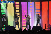 ESDLUMEN portable stage curtains LED display
