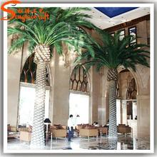 Hot selling plastic palm trees for sale with low price