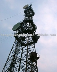 Pre-engineered Structural Steel Radio & Telecommunication Tower