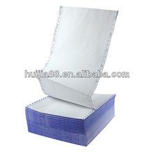vente chaude bleu image de papier NCR continuious