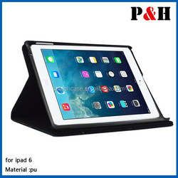 Leather Case For iPad 6, Flip Stand Case For iPad Air2 Case, Leather Case For iPad Air 2