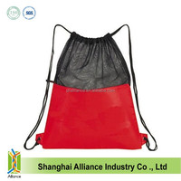 2014 hot selling drawstring school backpack in china