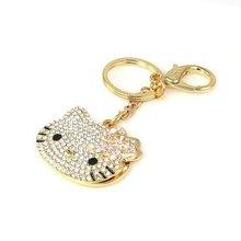 (0609316) 2011 new fashion popular crystal key chain