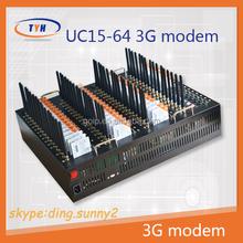 MODEM!GSM module 64 ports GSM/GPRS sms modem multi port wavecom/3g usb modem sim card, UC15-E 3G 900/2100MHZ