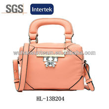 2013 Hot Branded Bling Fashion Leather Handbag Ladies