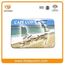 Cheap souvenir paper fridge magnet for tourist