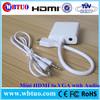 Chinese Supplier male Mini HDMI female vga audio support