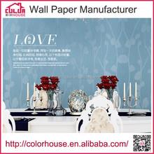 Living room cover wall sticker self adhesive pvc vinyl wall paper