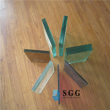 Good sound control laminated glass supplier , safety laminated glass