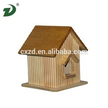 Bird cage\Wooden dog house\Colorful wooden house for pet use pet room \Wooden bird nest\Pet cage