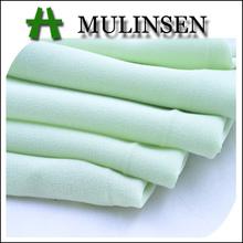 mulinsen textil de poliéster tejido llano georgette sari tela para la india