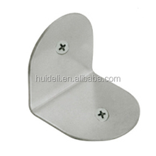 Stainless Steel angle clip/steel bracket for toilet partition cubicles accessories