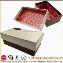 Fashion Cardboard paper shoe box display basketball shoe box CHF0103