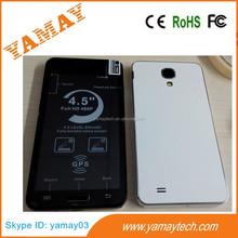"low price china mobile phone 4.5""ultra slim MTK6572 dual core wifi/gps download free mobile games wcdma gsm dual sim smart phone"