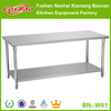 New model convenient to use stainless steel factory warehouse or kitchen work table