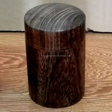 China CHENGPENG Brand Hot Sale Round Wooden Tea Packaging Box