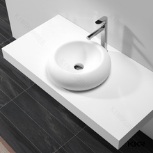 solid surface washing face basin high quality ponds face wash