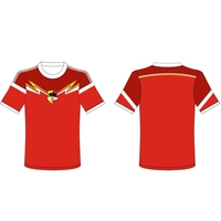Popular design interlock plain weave polyester farbic soccer team uniform youth soccer jerseys for kids