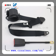 High quality three point retractable safety belt used for minibus and minivan from china