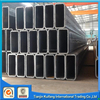 carbon square steel pipe ERW steel pipe black pipe/tube asian chinese tube used in gas and oil construction