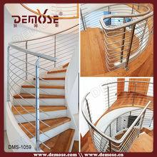 redonda de madera de la banda de rodadura de diseño de la escalera para la venta