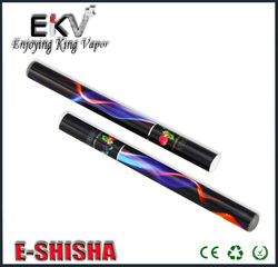 2014 new pure vapor shisha e hookah eshisha fruit shisha pen 800 puffs