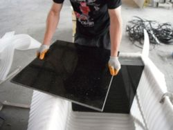 black galaxy granite, paint to paint granite