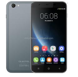 "5.5""QHD IPS OUKITEL U7 Android 4.4 Mobile Phone 2.0MP+5.0MP Camera MTK6582 Quad Core 1GB RAM 8GB ROM 3G WCDMA Dual SIM Cellphone"