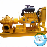 Double Suction Diesel Dewatering Pump