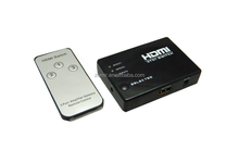 3x1 Port HDMI Switch/Switcher 1080P Supports 3D with IR Wireless Remote