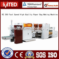 RZ 350 Full Automatic Paper Bag Production Line