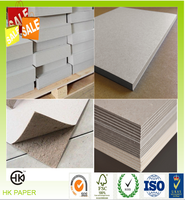 China manufacturer high quality thick/thin grey paper board
