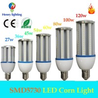 companies need representative dustproof corn light 54w samsung SMD5630 outdoor led corn light
