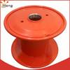 empty steel spool bobbin for wire production