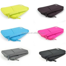 High quality Nylon travel passport holder/card wallet/credit card holder