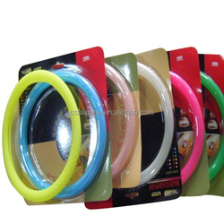 silicone car covers for steering wheel,14 inch steering wheel covers approved by FDA