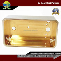 Cnc custom made metal box parts,cnc machine shop service