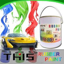 4liter liquid rubber plastic dip car body paint rubber spray paint car
