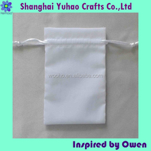 Draw cord jewel and watch packing small bag custom size and printing