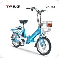 China en Bicicleta electrica