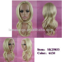 MOQ 50 PCS Manufactory High Quality Party Wigs Full Lace Wigs For Wholesale ITEM #SK25033