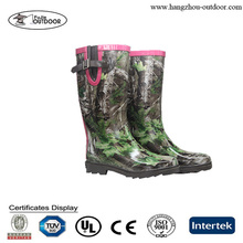 Camo Rubber Boots,Wellies Rain Boots,Western Rubber Rain Boots