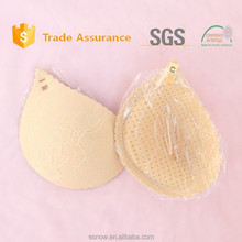 ES6602 2015 Wholesale Push up lace silicone bra pad for swimwear