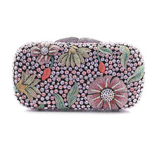 Hot selling New Style Women clutch bag metal frame / fashion handbag in Europe