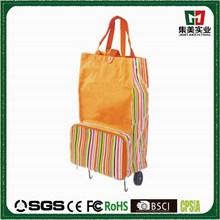 Newly Arrival wheel popular fashing folding shopping cart