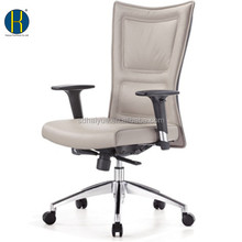 HY2205 Business High Back White Office Chair with Wheels