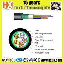 optical power composite cable 12 cores professional fiber optic cable manufacturer