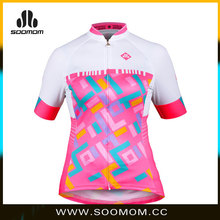 2015 Soomom women short sleeve cycling clothes/cycling jersey/bike gear